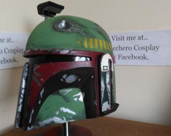 Star wars boba fett/jango fett 1:1 display helmet