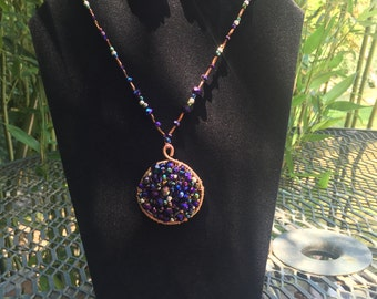 Midnight Purple Jewelry Set
