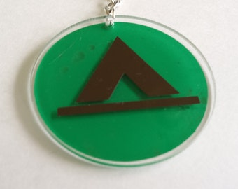 Tent Camping Keychain