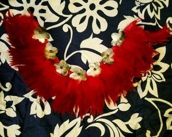 Polynesian Featherd Necklace