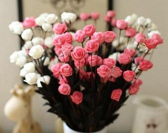 Artificial Silk Flower Decor