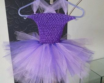 Dress purple and violet Tulle tutu