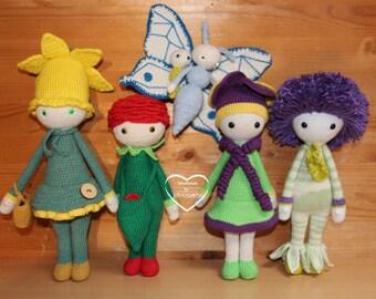 Zabbez crochet dolls / Zabbez crochet dolls on order
