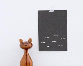 Postcard Cat - Cat Eyes - A5