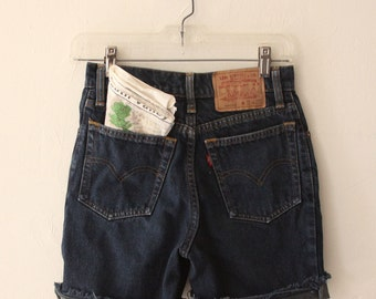 Vintage Levi's Denim Cutoffs size 26