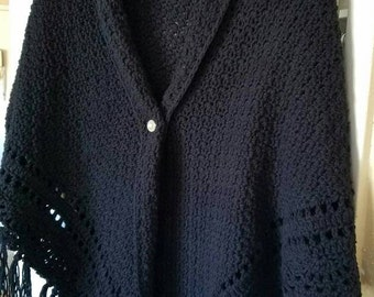 Large Crochet Shawl