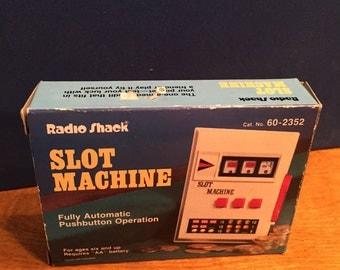 1980's Radio Shack Slot Machine