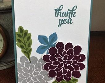 Flower Cluster Card