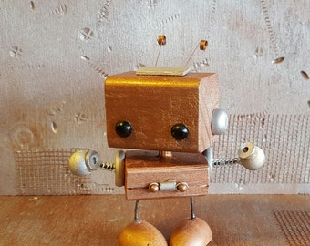 C.A.S.S.I. wooden robot