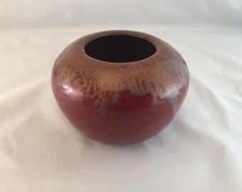 Short Stoneware Vase