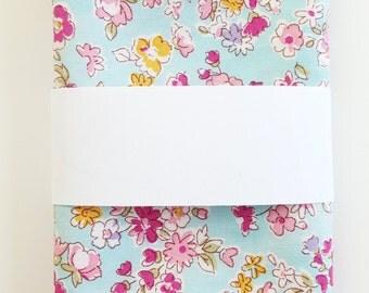 Men's Floral Cotton Pocket Square