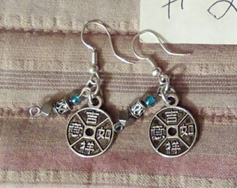 Various wire and beaded earrings
