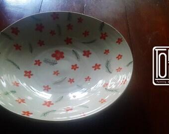 "Flower Plate 8"""