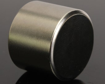 1x Super Strong Round Cylinder Magnet 25x20mm Disc Rare Earth Neodymium N52