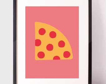 Poster Pizza / Food