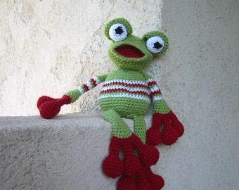 Tutorial or great frog pattern crochet
