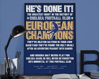 Munich 2012 - He's Done It!