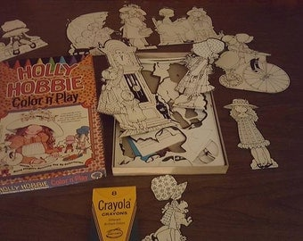Vintage Holly Hobby Colorforms