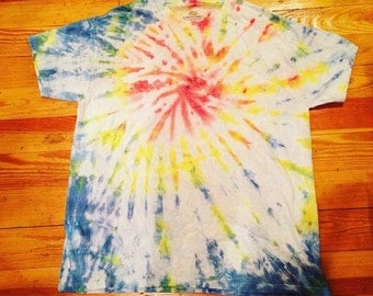 Cute colorful spiral, size adult large.