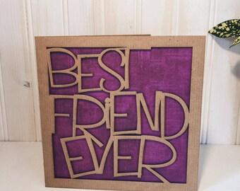 Best Friend Ever Greetings Card