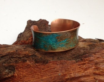 Copper Cuf Patinaf Bracelet
