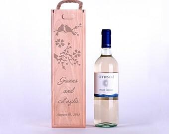 Wine box,wine wedding box,ceremony wine box,wine ceremony,custom wine box,wine box ceremony,wooden wine box,engraved wine box,4082016