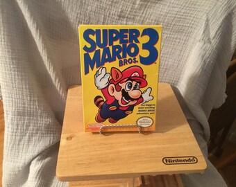 Super Mario Bros 3 Complete in Box Nintendo NES
