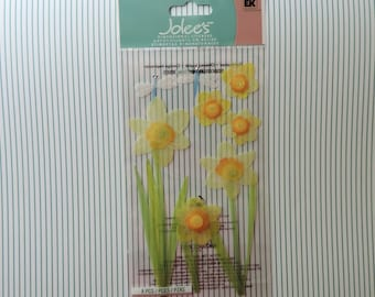 Daffodils stickers by Jolee's Boutique