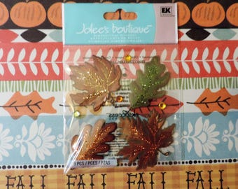 Fall leaf stickers by Jolee's Boutique