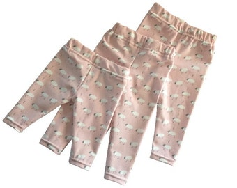baby leggings little sheep