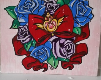 Sailor Moon hand painted Nr. 01,.