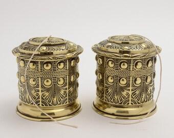 Pair Edwardian String Boxes (ID 47252)