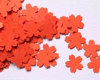 100pcs Confetti Sakura flower, Japanese style party confetti, birthday party confetti, baby shower, Cherry Blossom Flower