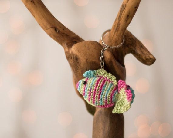 Crochet keychain Amigurumi keychain crochet amigurumi fish