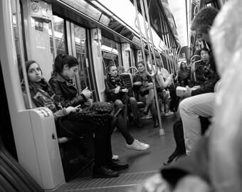 Paris Metro, Paris, France