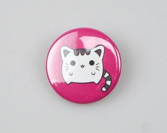 Kawaii Cat Badge (38mm)