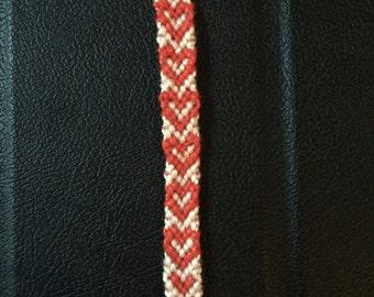 Hearts friendship bracelet