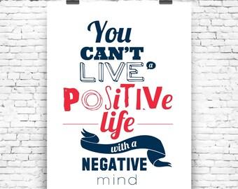 Art Print Positive Mind