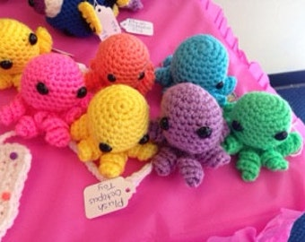 Cute Octopus Crocheted Plush toy