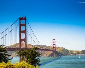 San Francisco Bay Bridge Canvas