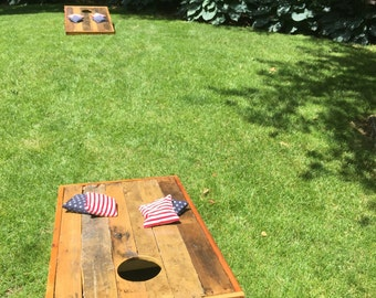 Bean Bag Toss Game.