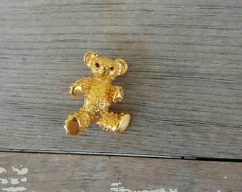 Little Bear Brooch Pin