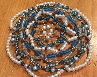Glass bead kippah