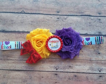 Back to school Kindergarten headband
