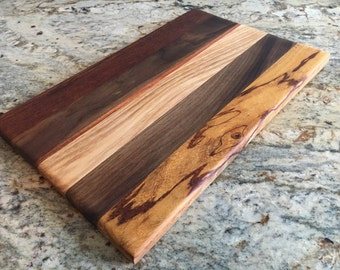 Handcrafted Hardwood Cutting Board