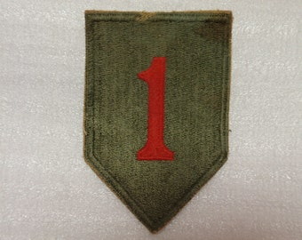 "U.S. WW2 1st ""Big Red One"" Infantry Division * usp559"