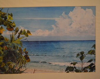 Seven Mile Beach print by Doug Brown