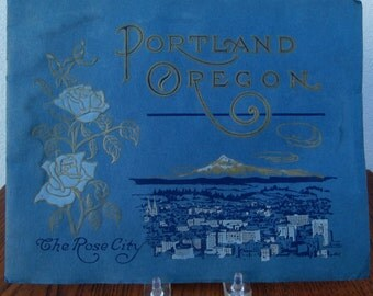 Souvenir Photoplate Book Portland Oregon