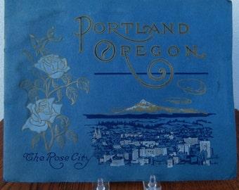 Souvenir Photoplate Book Portland Oregon