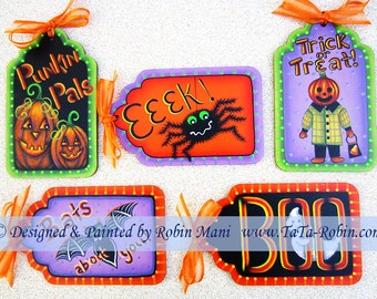 237 Spooky Companions Decorative Painting Pattern